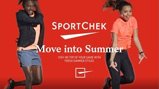 Sport Chek | Move Into Summer Collection