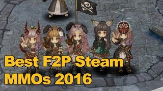 Top Free to Play MMOs on Steam 2016