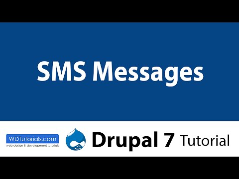 Drupal 7 - How To Send SMS Messages