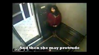ELISA LAM Elevator Survelliance Video 01 - The Elevator Door