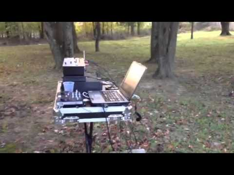 Dj Andz Simple Pa Setup For Outside Wedding Ceremony Youtube