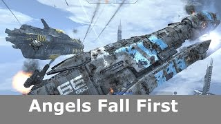 Скачать Angels Fall First Capital Ship Scale Combined Arms FPS