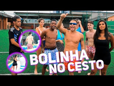 GINCANA: BOLINHA NO CESTO COM RAFAEL UCCMAN, POCAHONTAS, MC DEDE E TULIO ROCHA