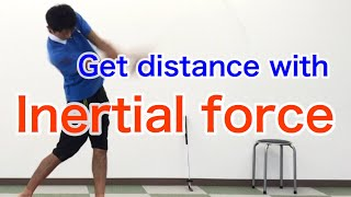Using inertial force :  [Golf Swing Kinematics Japan]