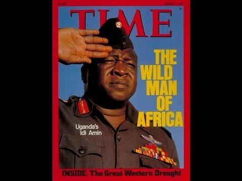 I flew for Idi Amin, President of Uganda