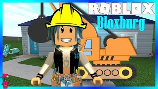 🏗BLOXBURG HOME DEMOLITION AND CONSTRUCTION (Roblox)🛠