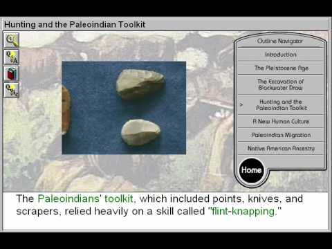 Hunting and the Paleoindian Toolkit (First Americans: The PaleoIndians Part 4)