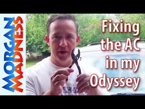 Fixing the AC in My 2008 Honda Odyssey - YouTube