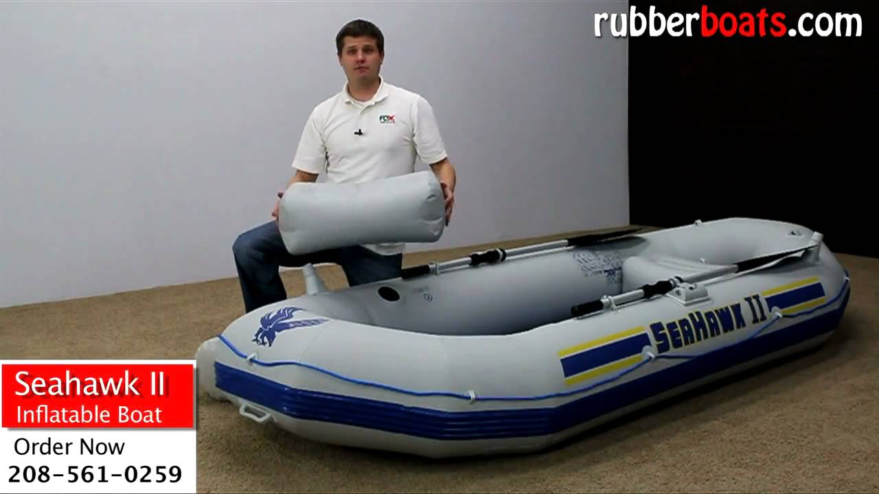 Intex Seahawk ii 2 Inflatable Fishing Boat Video Review by ...
