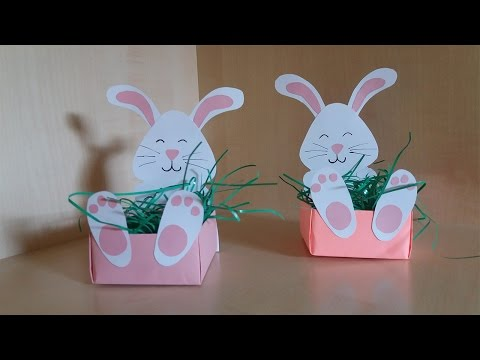 How To Make a Easter Bunny Box