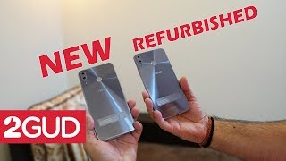 Hands on with refurbished (bilkul naye jaisa) and new Asus Zenfone 5Z - refurbished  is just 2GUD