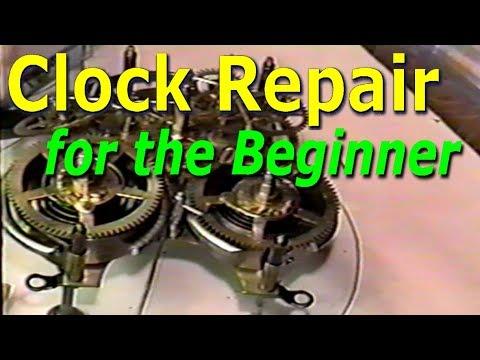 Clock Repair For The Beginner
