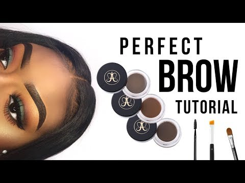QUICK & EASY PERFECT BROW TUTORIAL