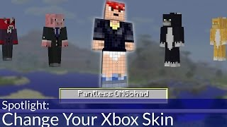 Change Your Xbox Minecraft Skin