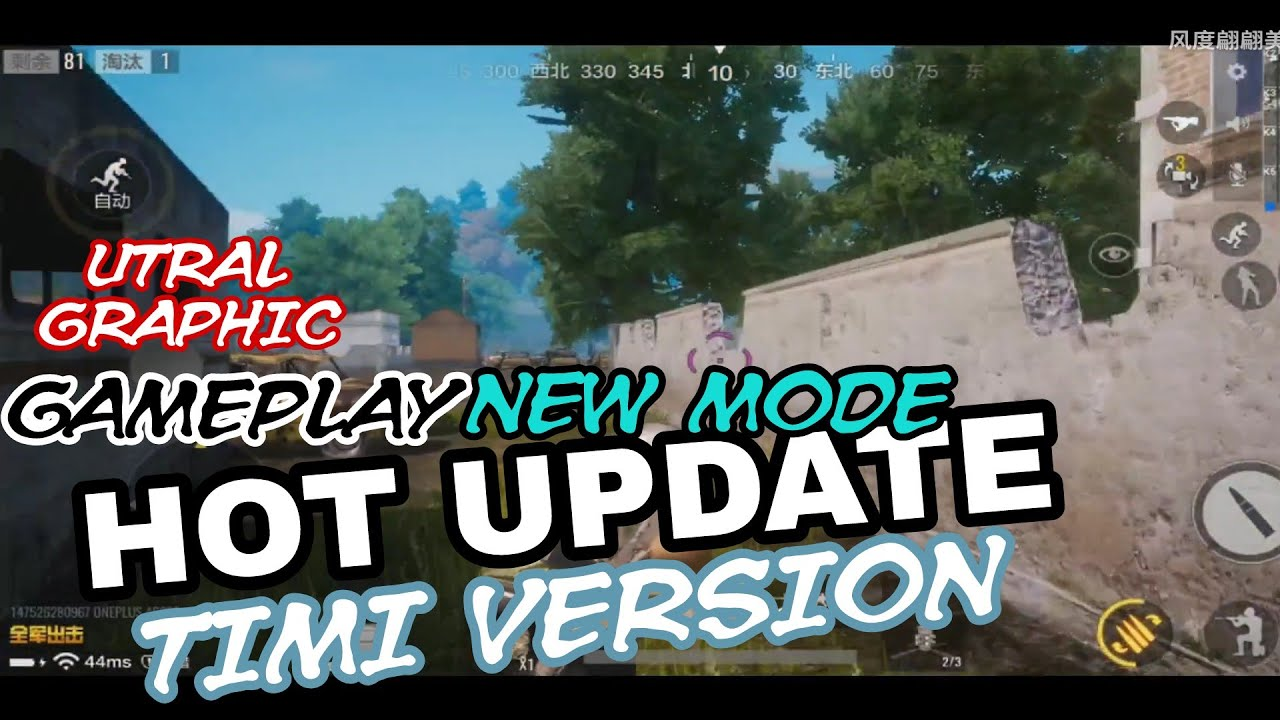 Pubg Mobile Timi Version Hot Update New Mode Gameplay Utral Graphic Youtube