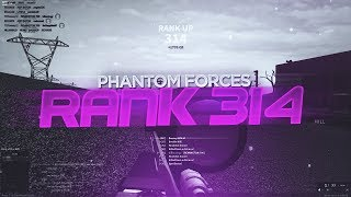 RANKING UP TO RANK 314 in PHANTOM FORCES!! (roblox)