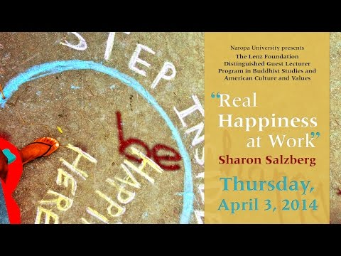 Real Happiness at work with Sharon Salzberg