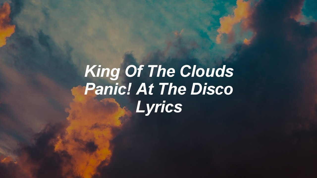 king of the clouds lyrics
