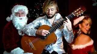 All I Want For Christmas Is You - GUITAR COVER - Mariah Carey