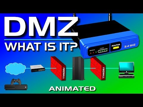 What is a DMZ? (Demilitarized Zone)
