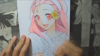 Speed Drawing - Popuri from Harvest Moon