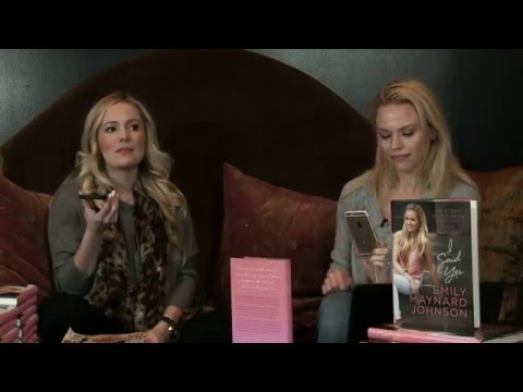 "Emily Maynard Johnson Book Signing & Interview | ""I Said Yes"""