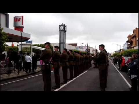 New Zealand Army Parade | Dannevirke 2016