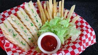 Chicken Sandwich - Lunch Box Idea Fast Food Recipe By (HUMA IN THE KITCHEN)