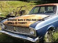 Bringing a 1968 Ford Falcon back to life after 40 YEARS! (w/ JCR Garage) BEHIND THE SCENES