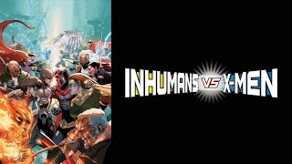 INHUMANS VS. X-MEN Trailer