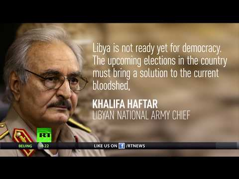 Libya not ready for democracy – National army chief