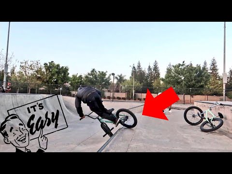 TOP 5 EASIEST BEGINNER BMX TRICKS (QUARTER PIPE/LIP TRICKS)