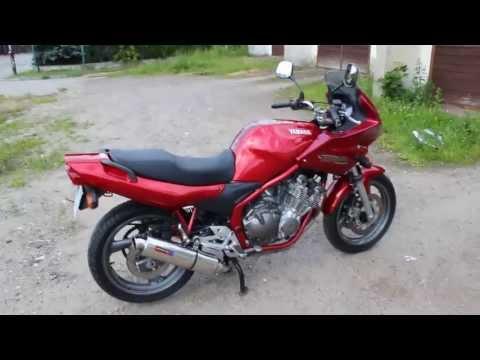 Yamaha XJ600 Diversion Dominator exhaust