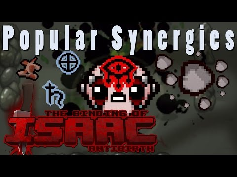 The Binding of Isaac Antibirth | Asteroid Cloud | Popular Synergies!