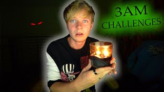 Most HAUNTED 3am Challenges Ever (TOP 5)