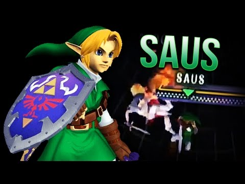 Top 10 Saus Link Combos/Plays | Melee