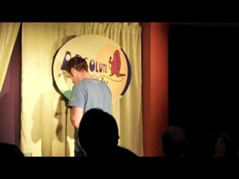 Marcus Ryan stand up comedian @ Absolute Comedy Ottawa, Canada