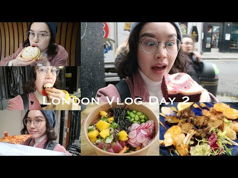 Cambridge 2 London FOOD VLOG Day 2