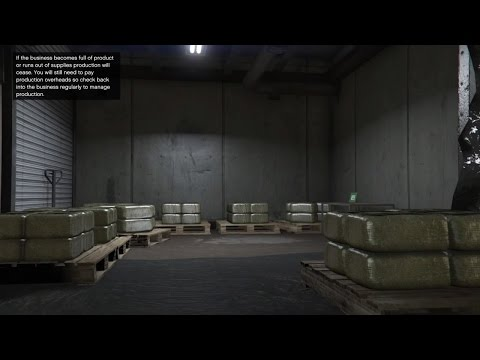 gta v online biker dlc buying a weed farm buying 6600000 office space maze