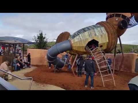 Canberra's best kids playground at Arboretum