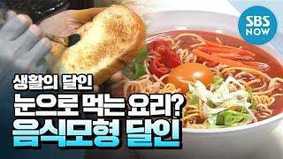 [생활의달인] Ep.685 눈으로 먹는 요리? '음식모형 달인' / 'Little Big Masters' Review | SBS NOW