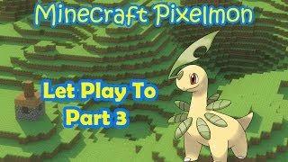 Minecraft Mod Pixelmon New [2.5.2] ตอนที่ 3 Dratini มาเป็นของฉันซะ !!!