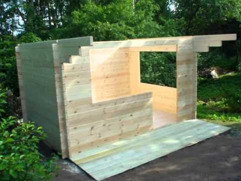 Timber yard montaggio casetta in legno youtube for Piani di coperta in legno
