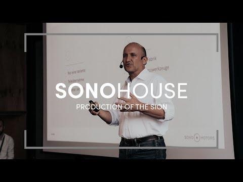 Production Of The Sion – Sono House   Sono Motors