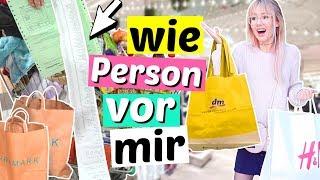 ALLES kaufen was Person VOR UNS kauft 😱 TEUER!! | ViktoriaSarina
