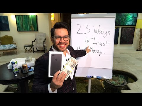 📚💵 How You Can Invest Your Money - 23 Wealth Creation Strategies www.tailopez.com/investingmoney 💵📚