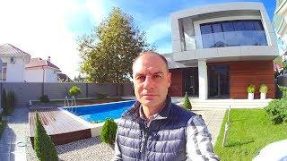 ДОМ С БАССЕЙНОМ ИЗ ДОРОГИХ КОМПОЗИТНЫХ МАТЕРИАЛОВ!// купить элитный дом в сочи /элитная недвижимость