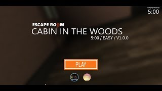 [ROBLOX] Escape Room - Classic Escape
