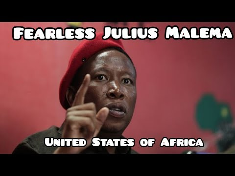 Fearless Julius Malema