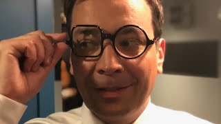 Jimmy Fallon Gets Ready for The Met Gala